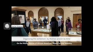 Archival Seedlings Workshop: Crafting the Story of an Exhibition webinar