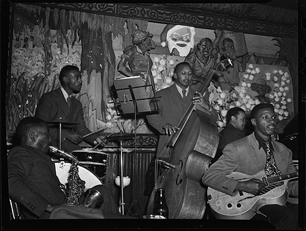 Jazz quintet, New Orleans, 1945