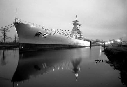 USS North Carolina, Wilmington, NC, early 1960s