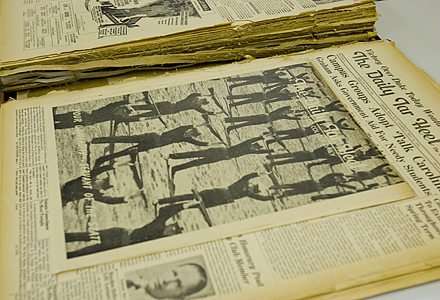 Bound volume of The Daily Tar Heel, 1941-1942 (volume 50)