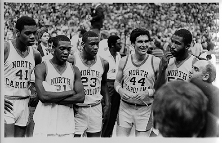 1982 UNC Men's Basketball NCAA Championship Team
