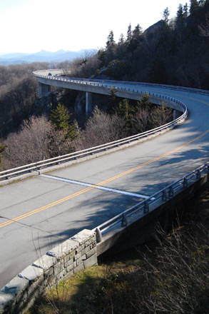 Blue Ridge Parkway Viaduct, 3/22/2008