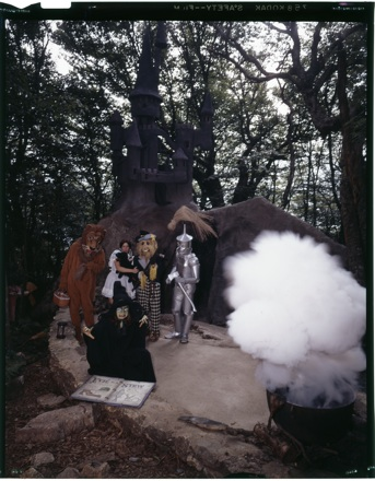 "Scene at the ""Land of Oz"" theme park, Beech Mt., NC, circa early 1970s"
