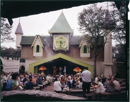 "Theater at the ""Land of Oz"" theme park, Beech Mt., NC, circa early 1970s"