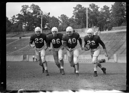 UNC 1947 Sugar Bowl starters