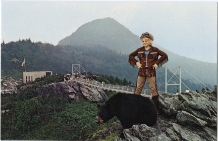 Grandfather Mountain postcard, circa 1960s