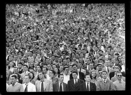 Crowd at a football game