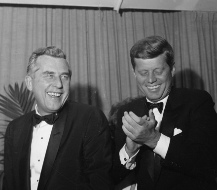 John F. Kennedy and Robert B. Meyner, 1960