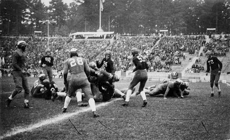 UNC versus Tennessee, 1931