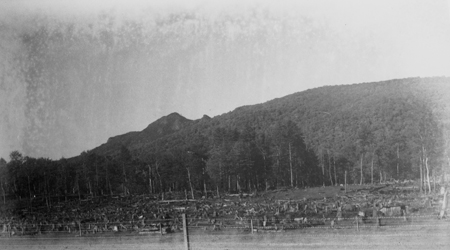 """Grandfather Mountain, 1890s, Copy of photos by Donald MacRae"""