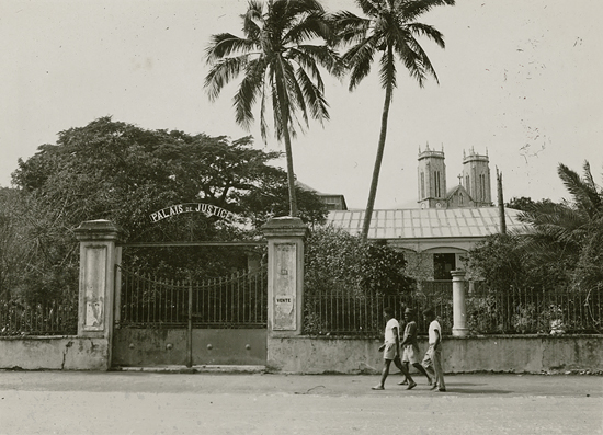 Street scene, Noumea, New Caledonia