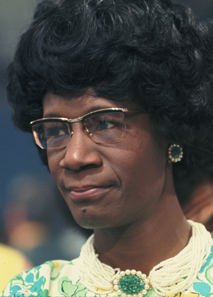 Shirley Chisholm at the 1972 Democratic National Convention