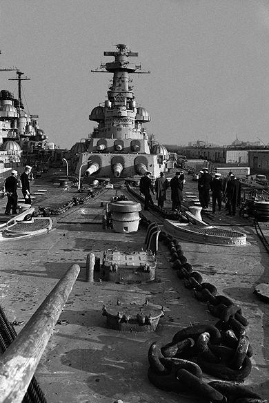 USS North Carolina at Bayonne, New Jersey