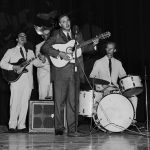 John D. Loudermilk and band (cropped)
