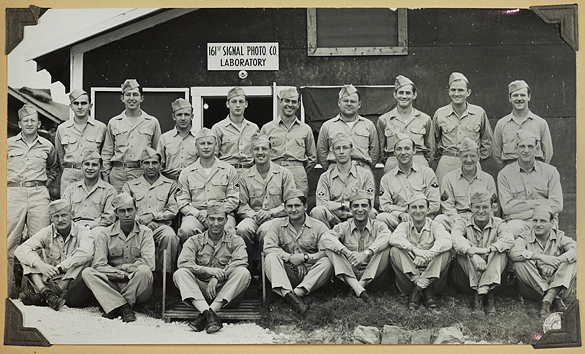 161st Signal Photographic Company, New Caledonia, probably Noumea in June 1944