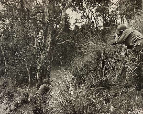Hugh Morton photographing near Balete Pass
