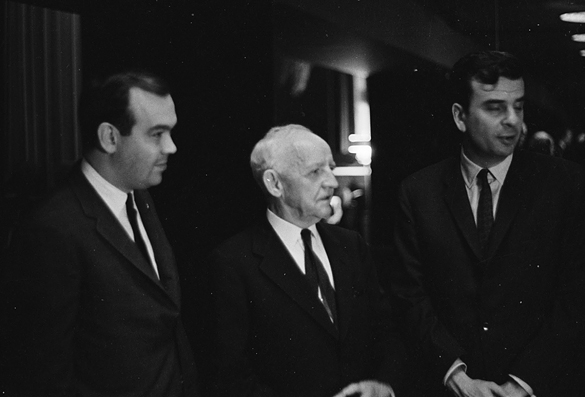 Charles Kuralt, Frank Porter Graham, and Barry Farber