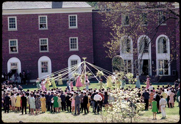May Day Festival Hollins College, 1967