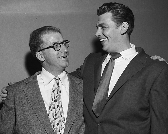 Orville Campbell and Andy Griffith