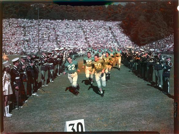 UNC football team, 1949