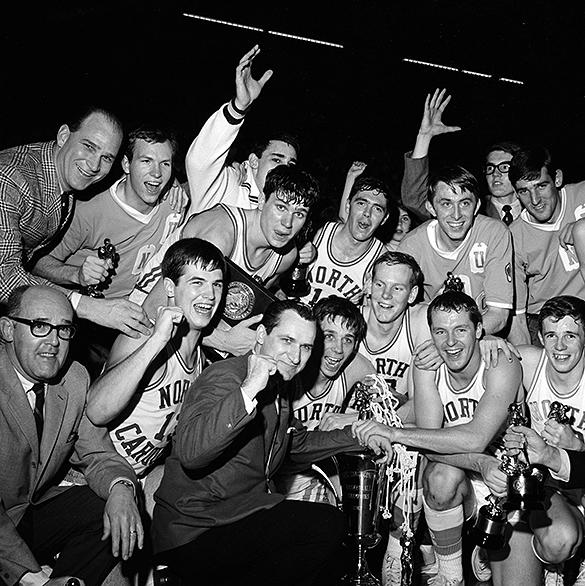 UNC 1967 ACC Tournament champions
