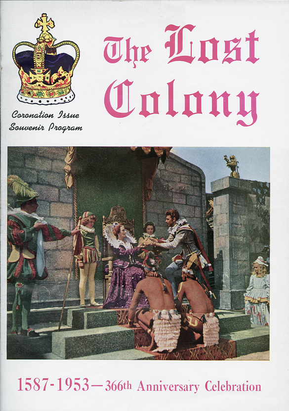 "1953 ""The Lost Colony"" Souvenir Program."