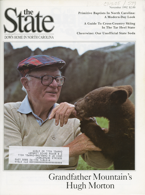 Cover of The State, November 1992