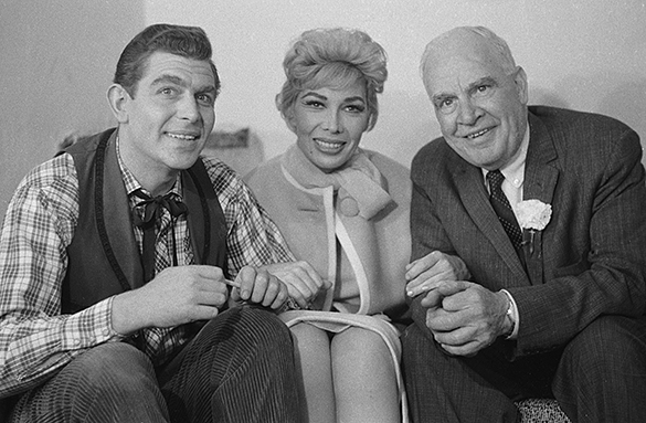 Andy Griffith, Dolores Gray, and Luther Hodges