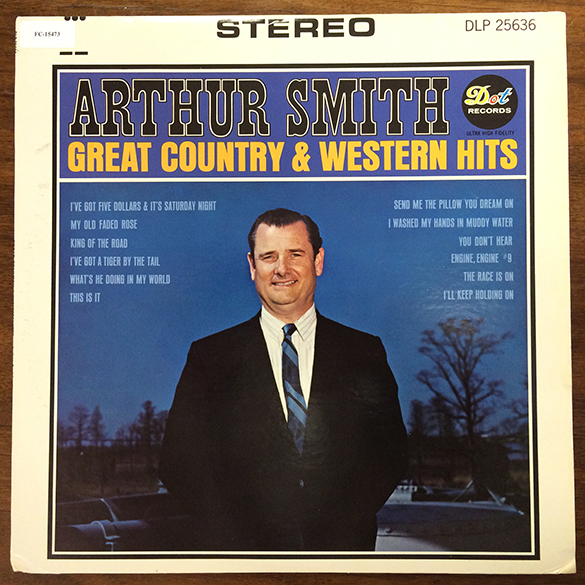 Arthur Smith Great Country and Western Hits_album cover