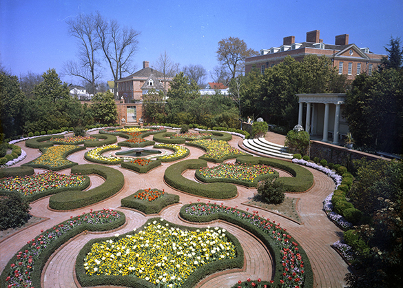Carraway Gardens at Tryon Palace, New Bern, N.C.