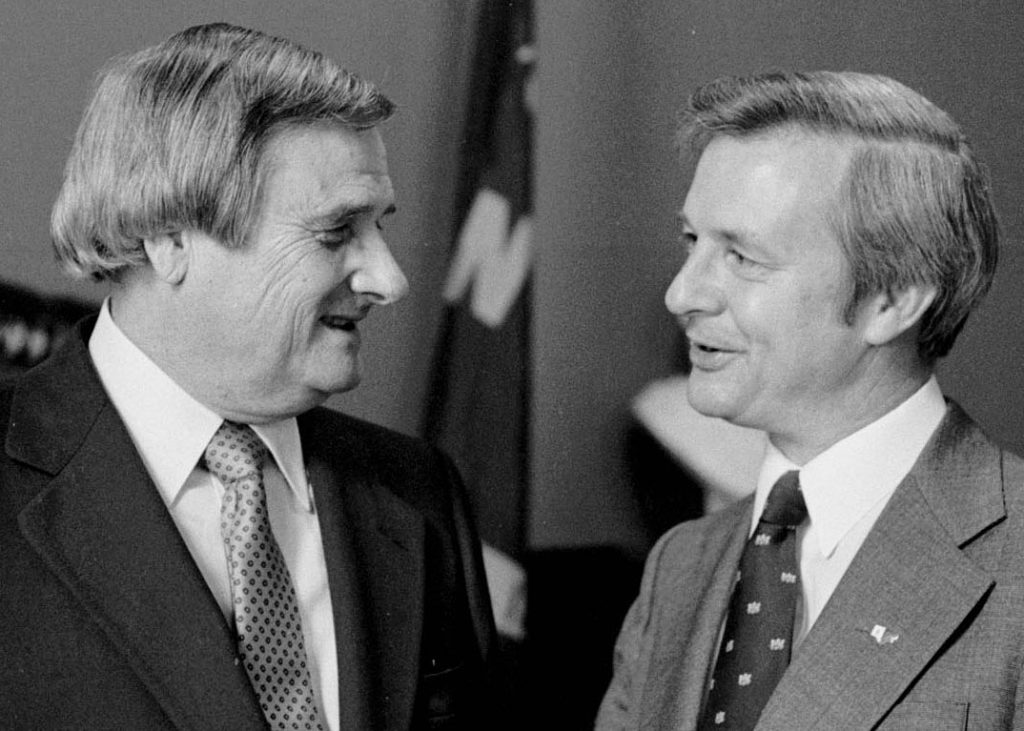Arthur Smith and North Carolina governor Jim Hunt