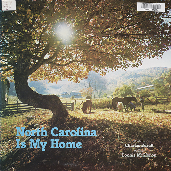 North Carolina Is My Home album cover