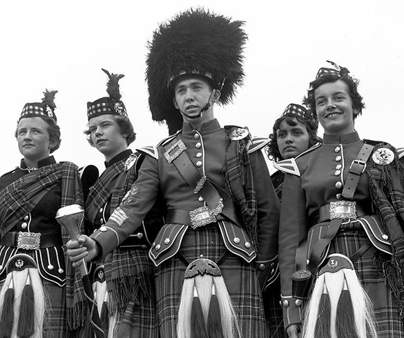 """Scottish Clans 1956"" by Hugh Morton (cropped by the editor)."