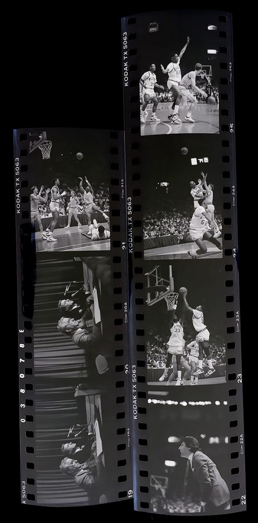 Negative strips from the 1987 ACC Tournament