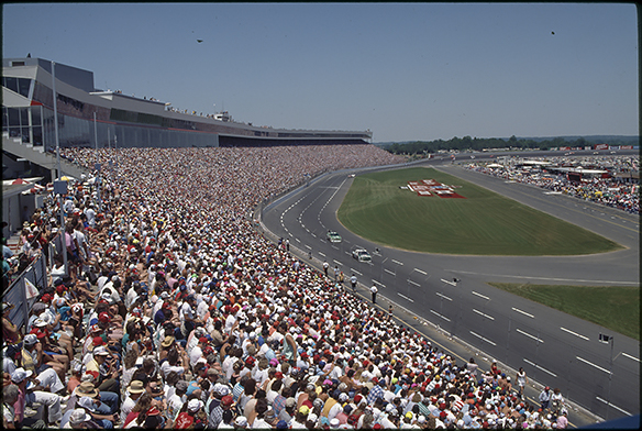 unknown race at Charlotte Motor Speedway