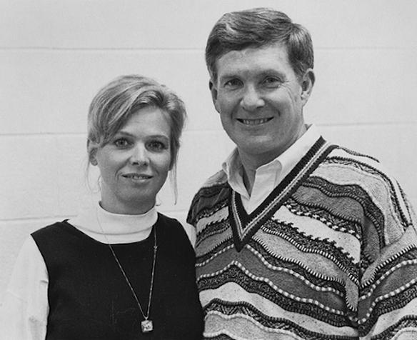 Sally and Mack Brown