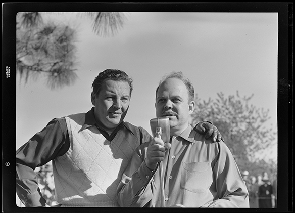 Harry Wismer and Ted Malone