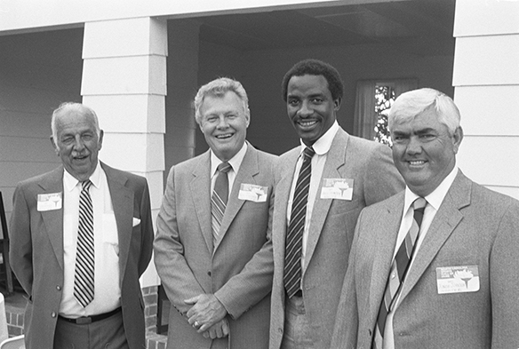 North Carolina Sports Hall of Fame inductees 1982.