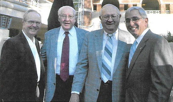 group during Charlie Justice statue dedication day, November 5, 2004