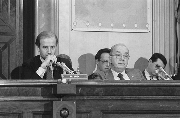 Joseph R. Biden and Jesse Helms photograph without crop