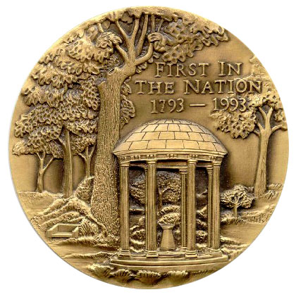 UNC medallion