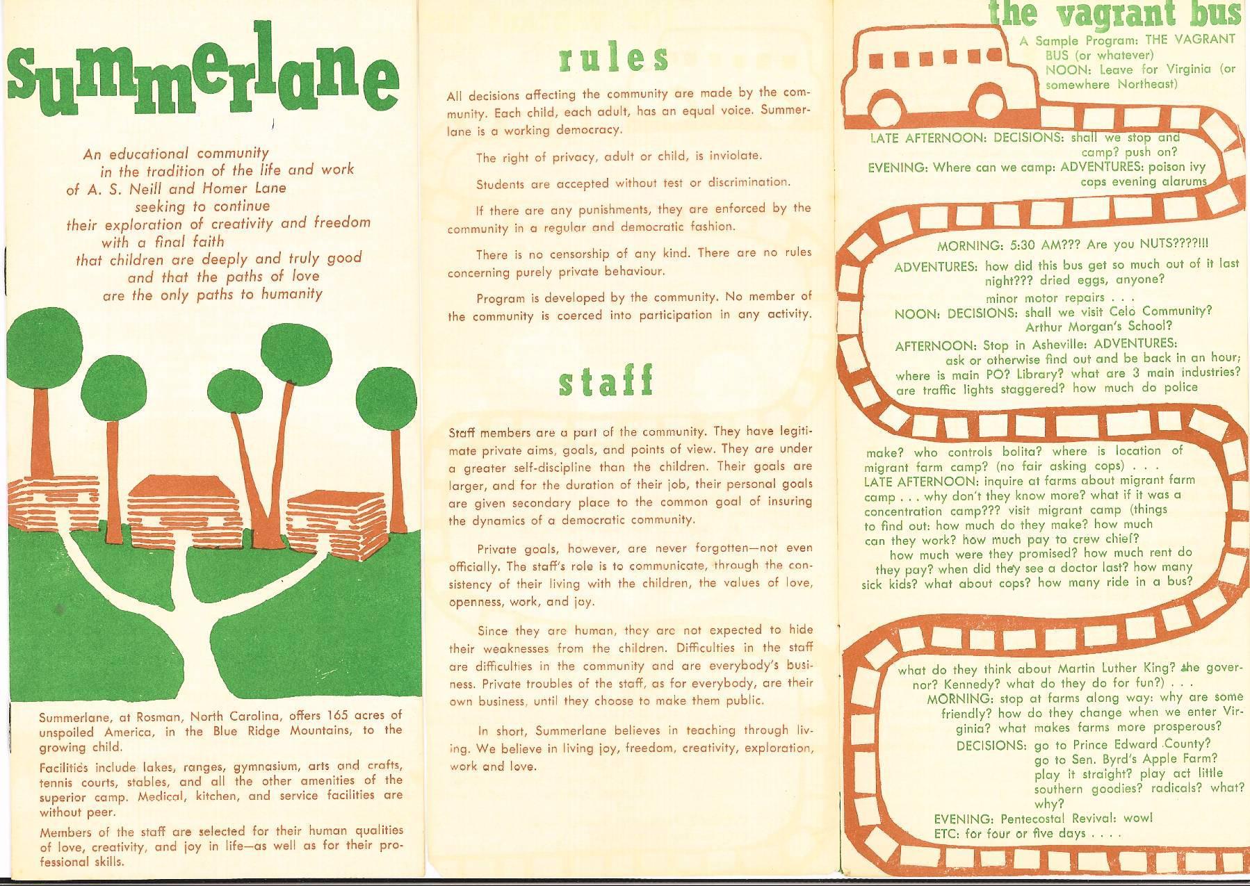 Summerlane Brochure