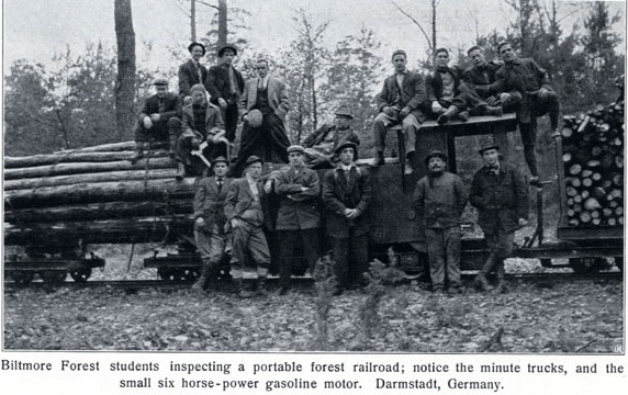Biltmore Forest School students in Germany