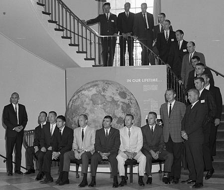 Apollo Astronauts at Morehead Planetarium, 6 June 1966