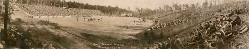 Kenan Memorial Stadium, UNC vs Virginia, 24 November 1927