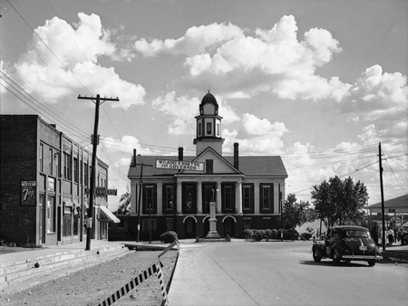 Chatham County Courthouse, Pittsboro, N.C., 1940