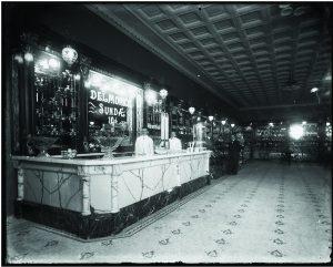 Bradham's Drug Store, New Bern, circa 1913.