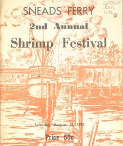 Sneads Ferry Shrimp Festival program