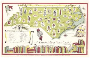 Literary Map of North Carolina