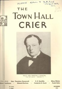 Cover of Town Hall Crier